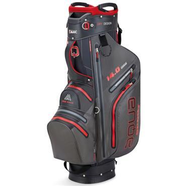 Big Max Aqua Sport 3 W/P Cart Bag  Charcoal Black Red