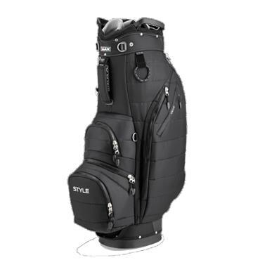 Big Max Terra Style Cart Bag  Black