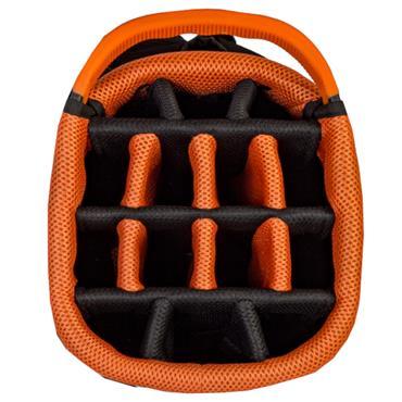 Big Max Dri Lite Hybrid Tour Stand Bag  White Black Orange