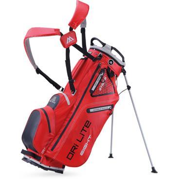 Big Max Dri Lite Eight Stand Bag  Red