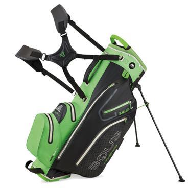 Big Max Aqua Hybrid 2 Stand Bag  Lime/Black