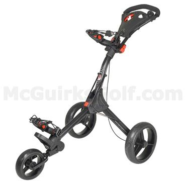 Big Max IQ Original 3-Wheel Manual Cart  Black