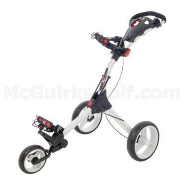 Big Max IQ Original 3-Wheel Manual Cart  White