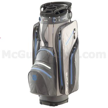 Big Max Waterproof Aqua Tour I-Dry Cart Bag Charcoal - Silver - Cobalt