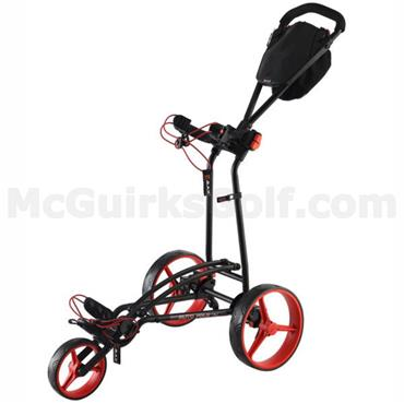 Big Max Autofold FF Manual Cart  Black/Red