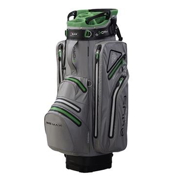 Big Max Aqua Tour 2 Cart Bag  Silver/Lime/Black