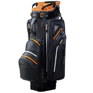 Big Max Aqua Tour 2 Cart Bag  Charcoal/Orange