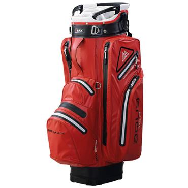 Big Max Aqua Tour 2 Cart Bag  Red/Silver/Black