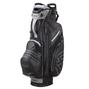 Big Max Aqua V-1 Waterproof Cart Bag  Black/Silver