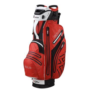 Big Max Aqua V-1 Waterproof Cart Bag  Red/Black/White