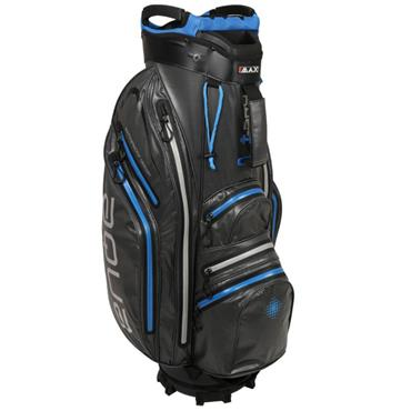 Big Max Aqua Space Waterproof Cart Bag Charcoal - Cobalt