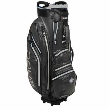 Big Max Aqua Space Waterproof Cart Bag Navy - Black - Silver