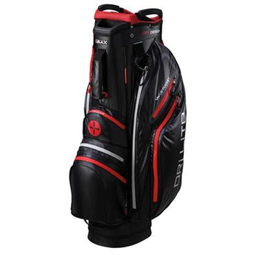 Big Max Dri Lite Active Cart Bag Black - Red