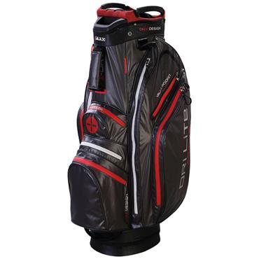 Big Max Dri Lite Active Cart Bag  Charcoal/Black/Red