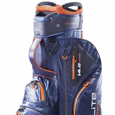 Big Max Dri Lite Sport Cart Bag  Navy Black Orange