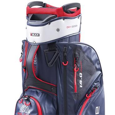 Big Max Dri Lite Sport Cart Bag  Navy Silver Red