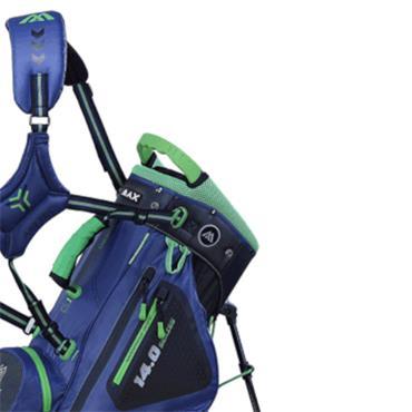 Big Max Dri Lite Hybrid Stand Bag  Navy/Black/Grass