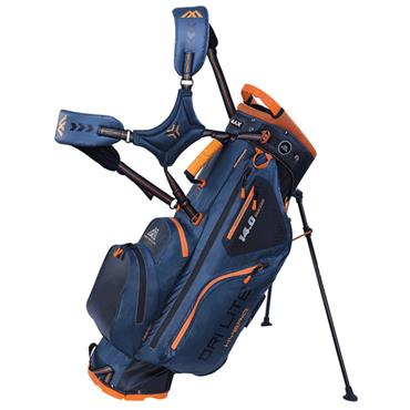 Big Max Dri Lite Hybrid Stand Bag  Petrol Black Orange