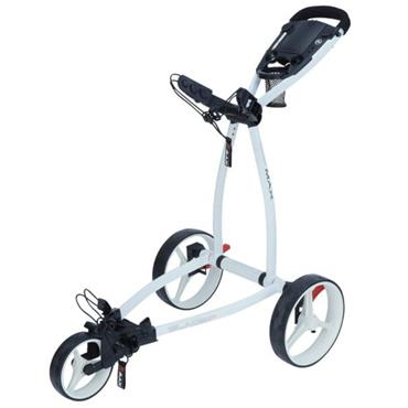 Big Max Blade IP Ultra-Slim Push Cart  White