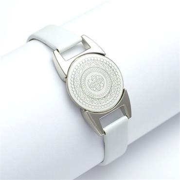 Surprizeshop Ball Marker Bracelet  White