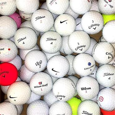 Stinger Golf Shag Bag with 50 Grade A Lake Balls  ONE