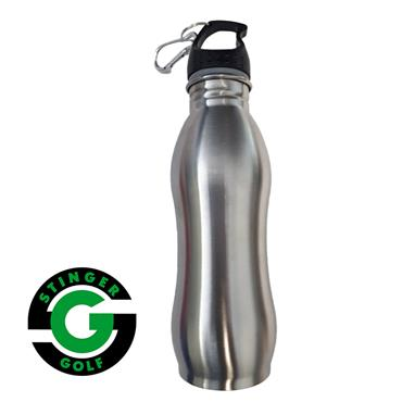 Stinger Golf Water Bottle  Silver