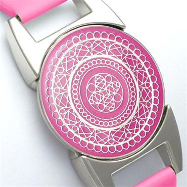 Surprizeshop Ball Marker Bracelet  Hot Pink