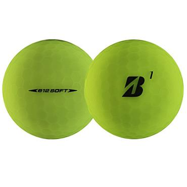 Bridgestone E12 Soft Golf Balls  Matte Green