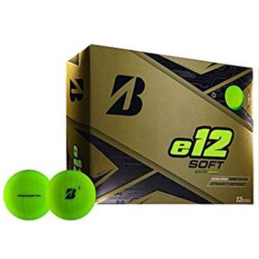 Bridgestone E12 Soft Golf Balls  Matte Green