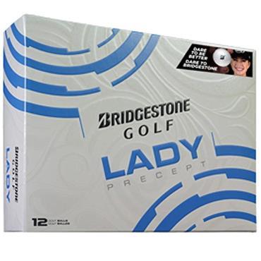 Bridgestone Lady Precept Golf Balls  White