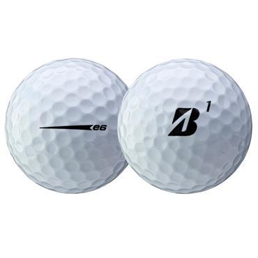 Bridgestone E6 Golf Balls Dozen  White