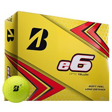 Bridgestone E6 Golf Balls Dozen  Yellow