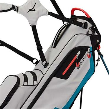 Mizuno BRD 3 Stand Bag 4 Way Divider  Grey - Blue