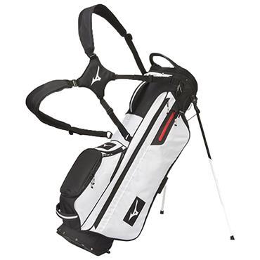 Mizuno BR-D3 Stand Bag  White - Black