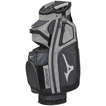 Mizuno BRD-4 Cart Bag Grey - Black