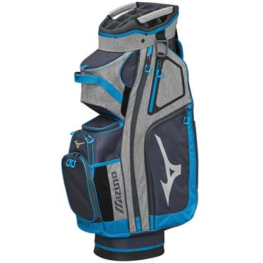 0533ea8e5ebe Mizuno BRD-4 Cart Bag Grey - Blue ...