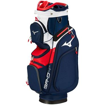 Mizuno BRD 4 Cart Bag 14WD  Navy/Red
