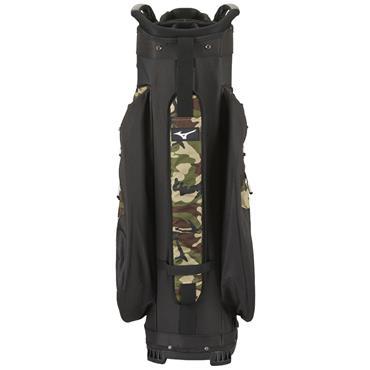 Mizuno BR-D4 Cart Bag  CAMO/BLACK