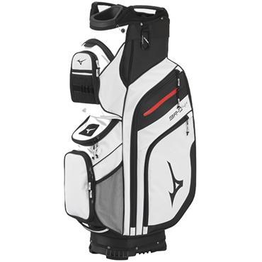 Mizuno BR-D4 Cart Bag  White Black