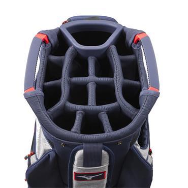 Mizuno BR-D4 Cart Bag  Grey/Navy