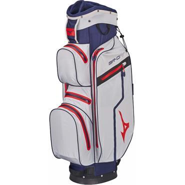Mizuno BR DRI W/P Cart Bag 14 Way Divider  Blue Silver Red