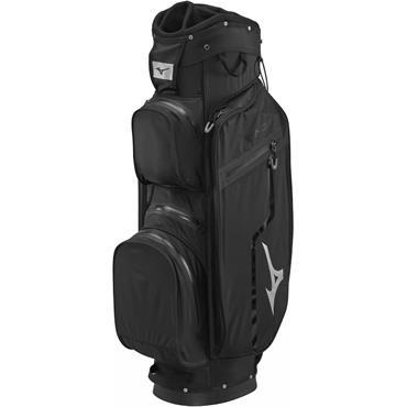 Mizuno BR DRI W/P Cart Bag 14 Way Divider  Jack Black Silver