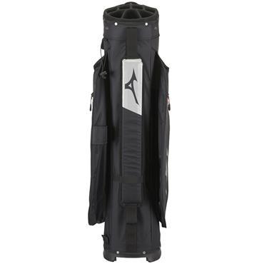 Mizuno BR-DR1C Cart Bag  Black Silver