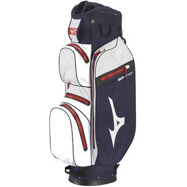 Mizuno BR-DR1C Cart Bag  Navy - White