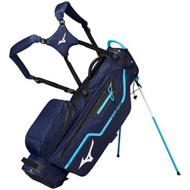 Mizuno BR DRI Waterproof Stand Bag 4Way Divide  Navy