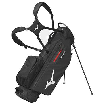 Mizuno BR-DRI FY21 Stand Bag  Black Silver
