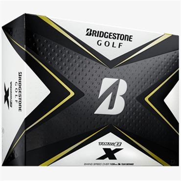 Bridgestone 20 Tour B X Ball Dozen White