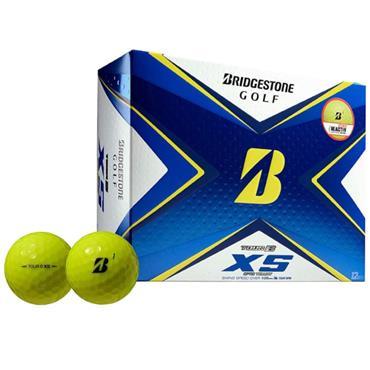 Bridgestone 20 Tour B XS Ball Dozen Optic Yellow