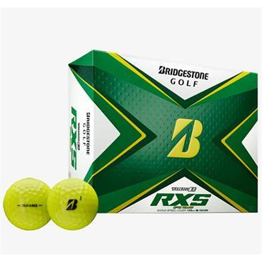 Bridgestone 20 Tour B RXS Ball Dozen Optic Yellow