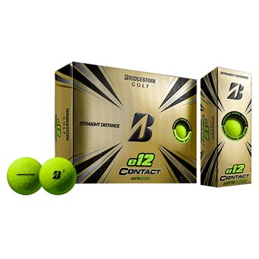 Bridgestone E12 Contact Golf Balls Dozen Green
